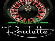 Виртуальный игровой аппарат на деньги Европейская Рулетка
