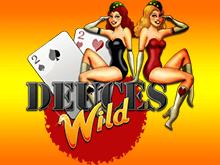 Играть на деньги в слот Deuces Wild